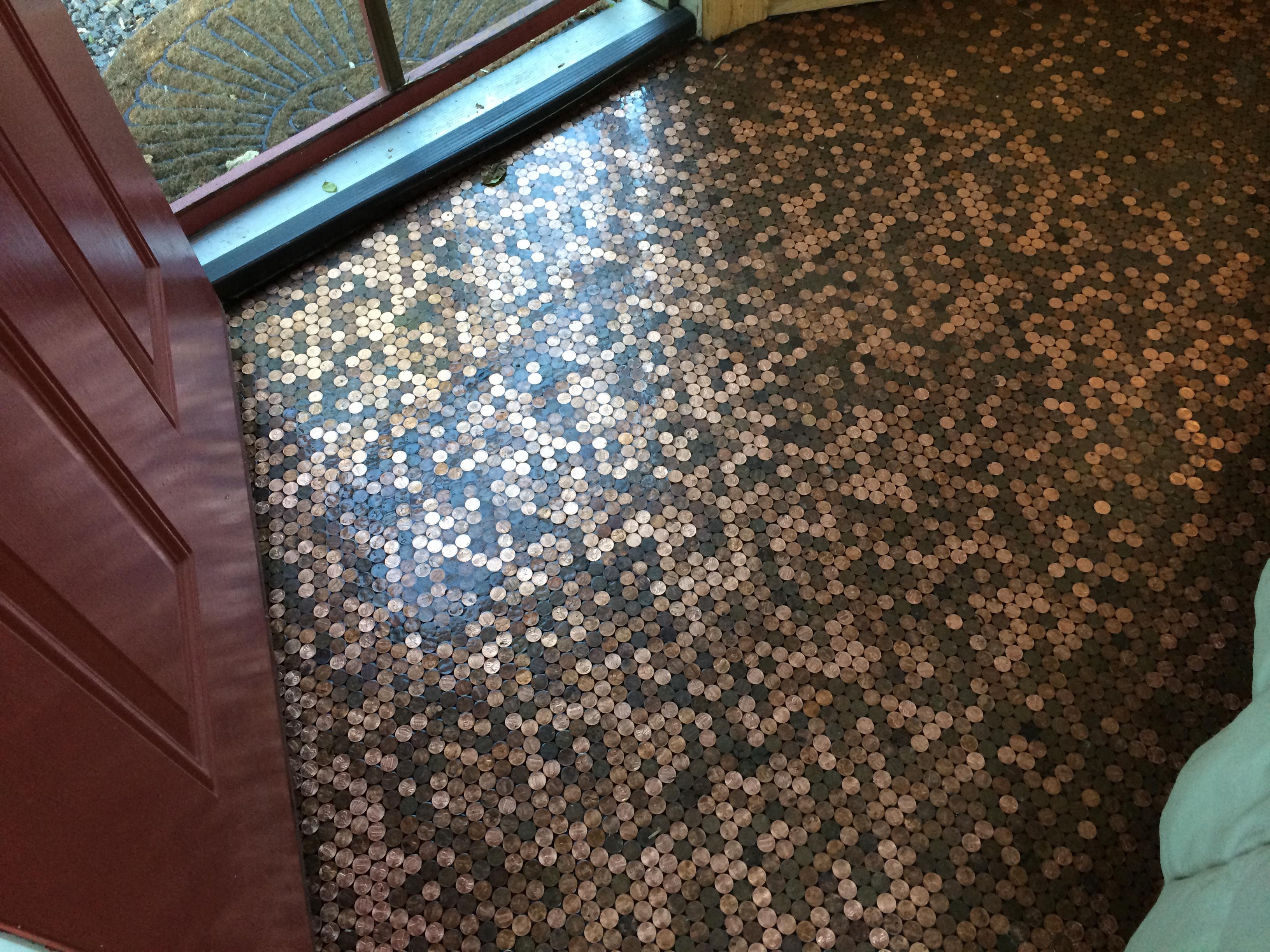Floor of Pennies