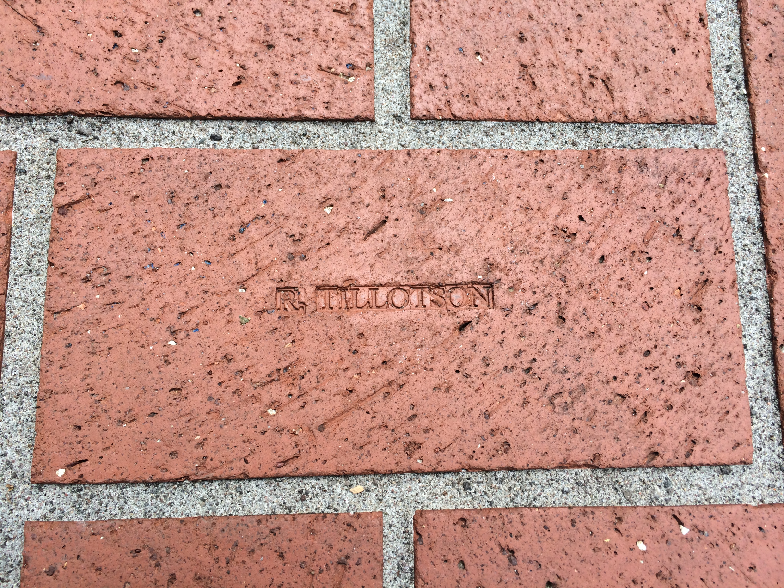 Brick from Pioneer Square