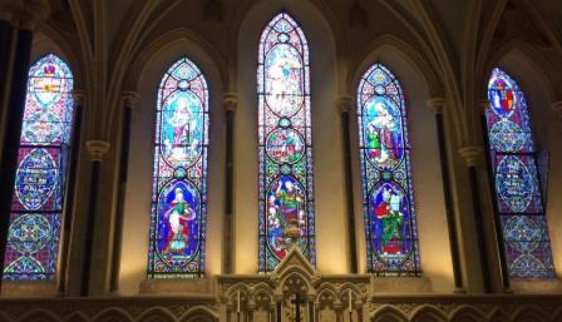 Dublin St. Patricks Windows