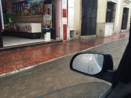 Mexico Flood in Villadolid