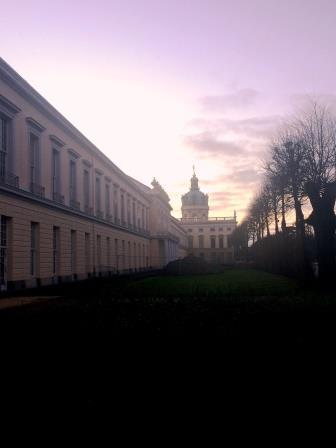 Germany Berlin Charlottenberg Palace back