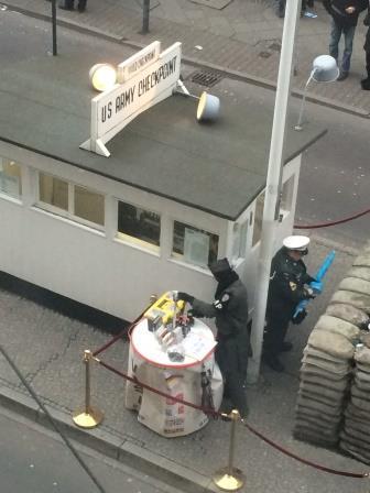 Germany Berlin Checkpoint Charlie