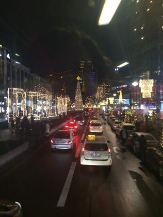 Ku'damm Christmas lights