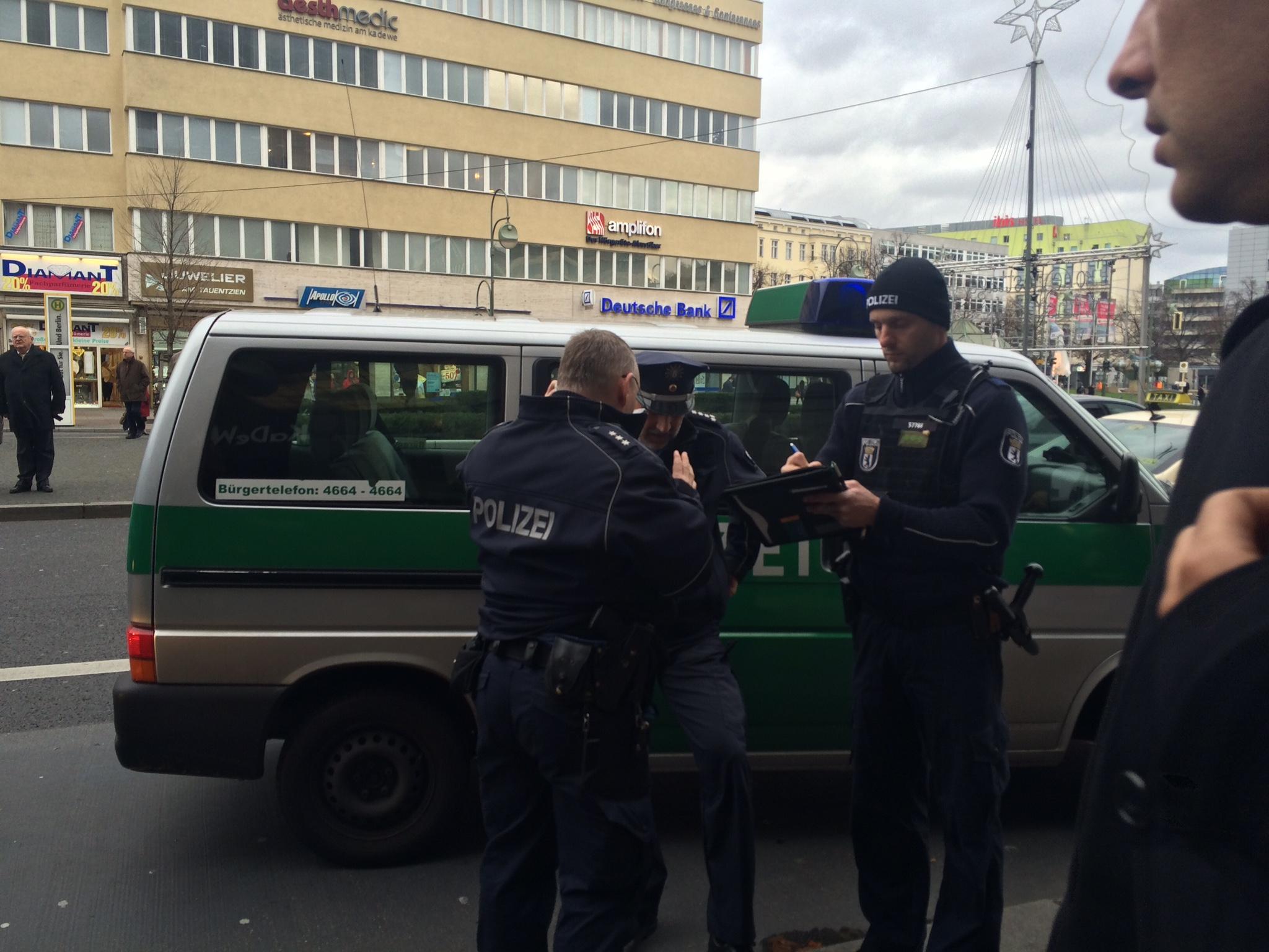Germany Berlin Police