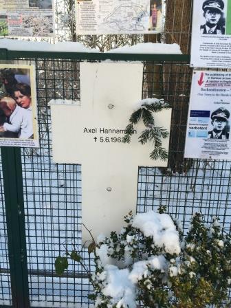 Germany Berlin Memorial to Berlin Wall Victims
