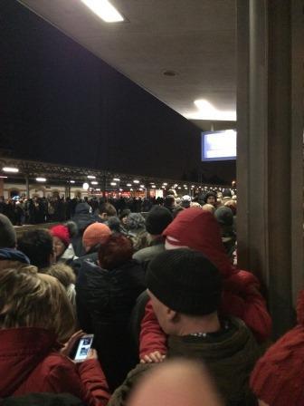 Train Crowd
