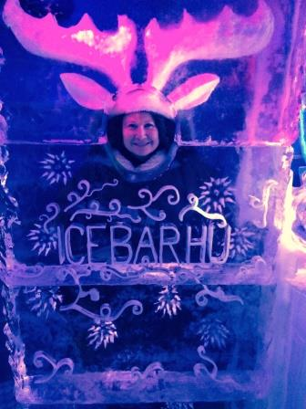 Ice Bar Photo Opp