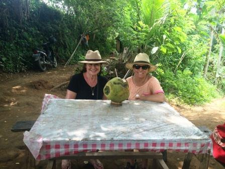 Indonesia - Carole and Gina Coconut Ubud