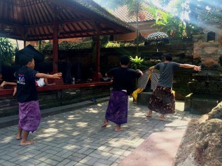 Indonesia - Ubud boy learning dance