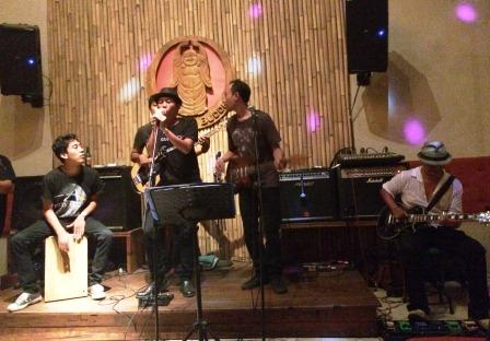 Indonesia - Ubud Laughing Buddha Blues Band