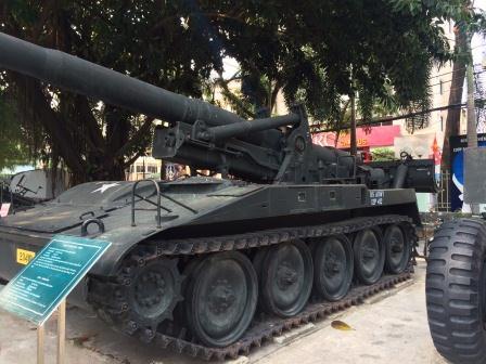 Vietnam - Museum Tank