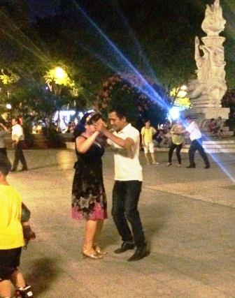 Vietnam - Park Dancers