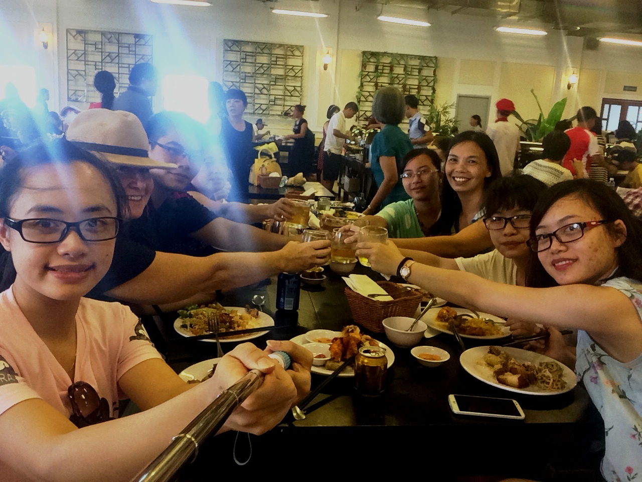 Vietnam - Bana lunch