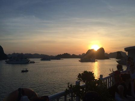 Happy Birthday in Halong Bay