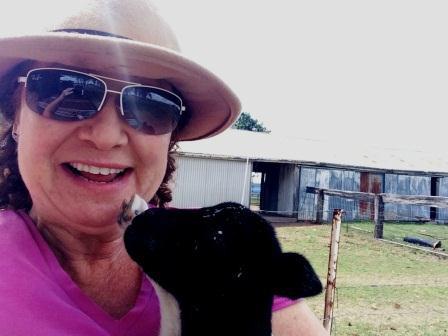 Carole and Sheep