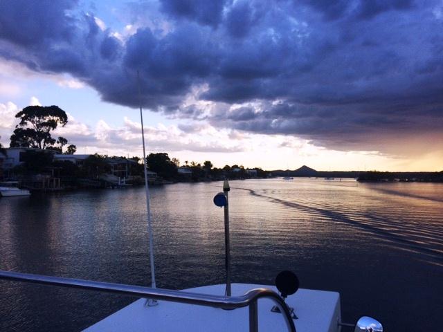 Australia - Noosa Sunset Boat