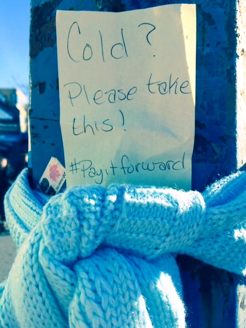 Vancouver - day of kindness scarf 3