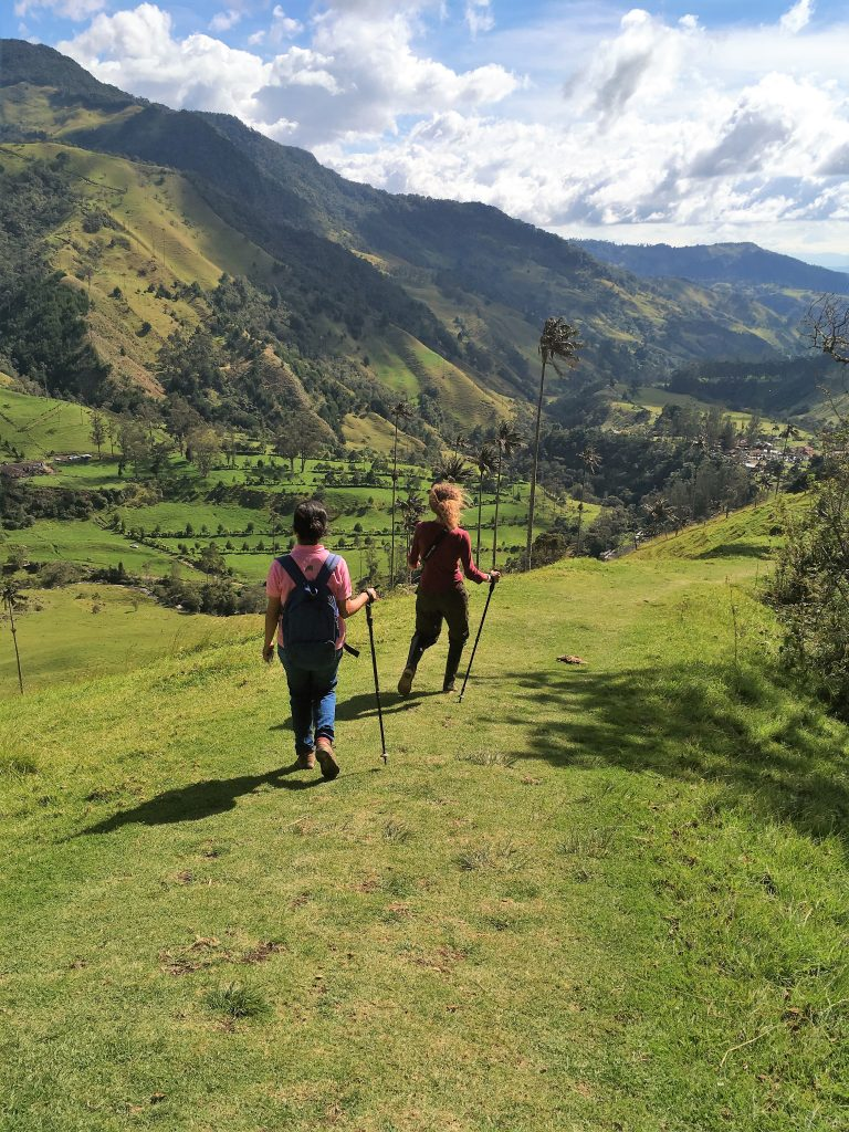 Colombia - Hiking in Corcora