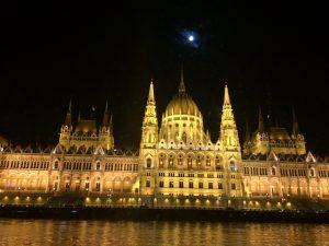 Budapest Parliament Nighttime