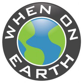 When on Earth Logo