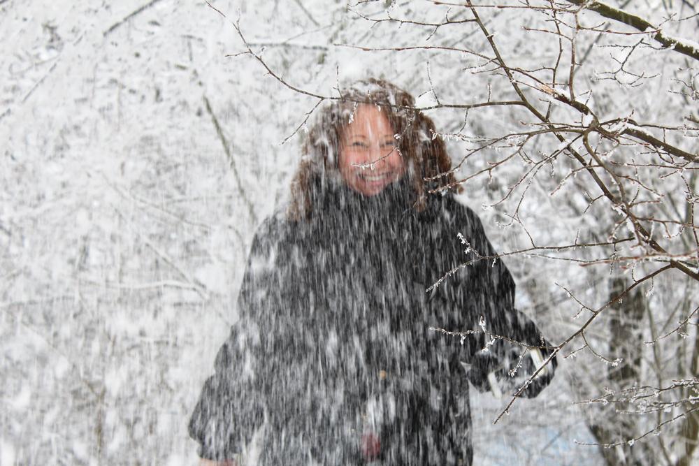 Carole in the Snow