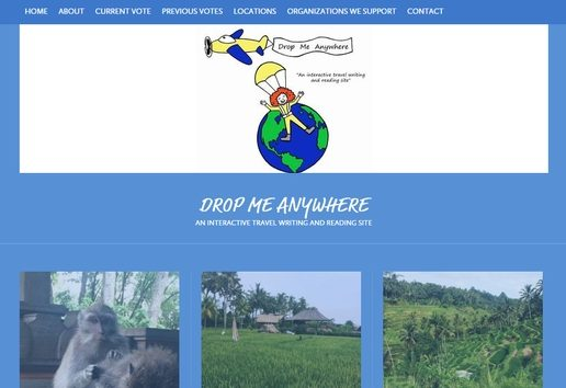 Old Website: Drop Me Anywhere