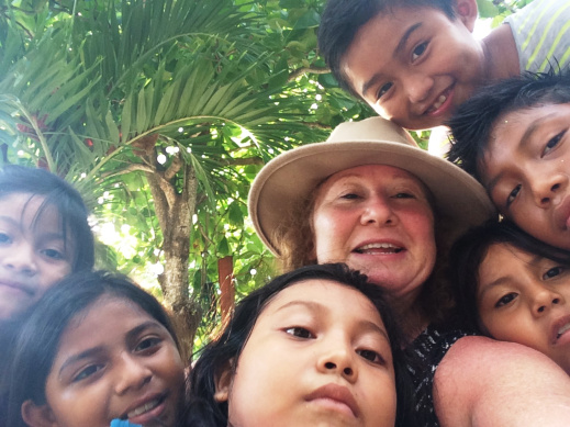 Mexico: Me and the kids